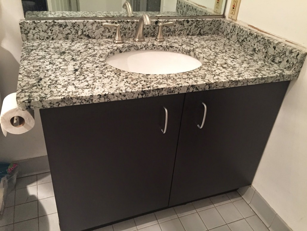 Grey Star Granite Bathroom Vanity Project Pictures Details