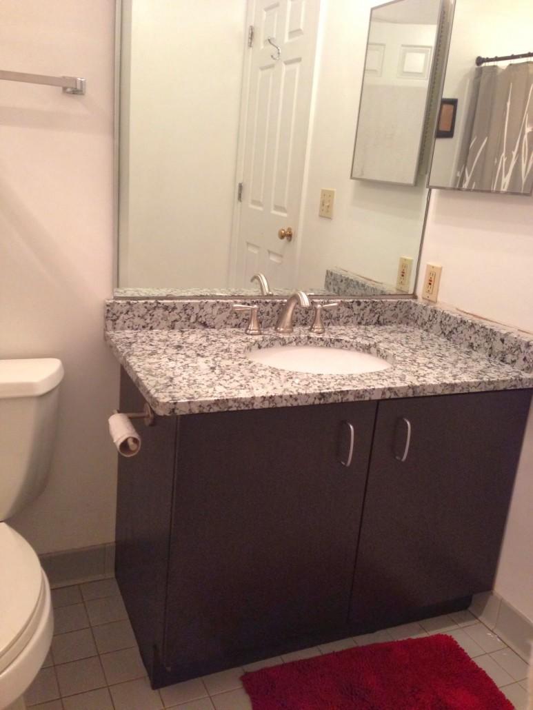 Grey Star Granite Bathroom Vanity Project Pictures Amp Details