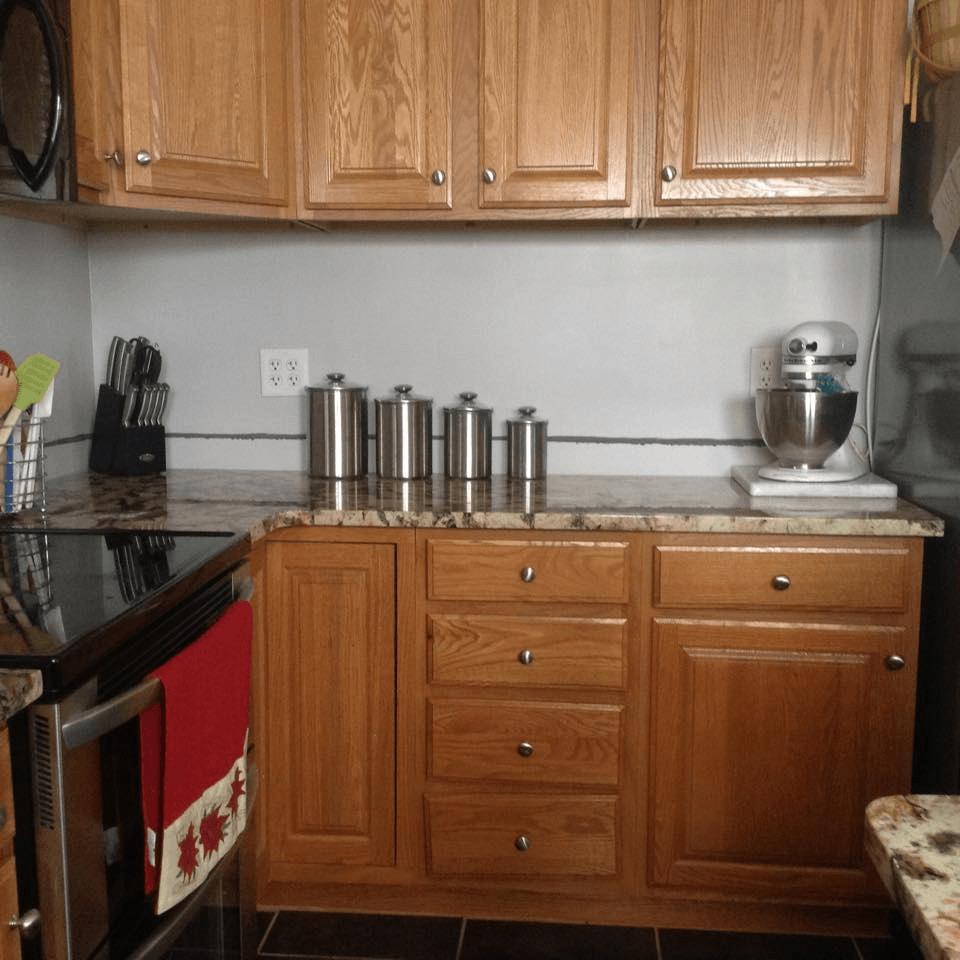 Titanium Granite Kitchen National Treasure Granite Kitchen Project Details And Pictures