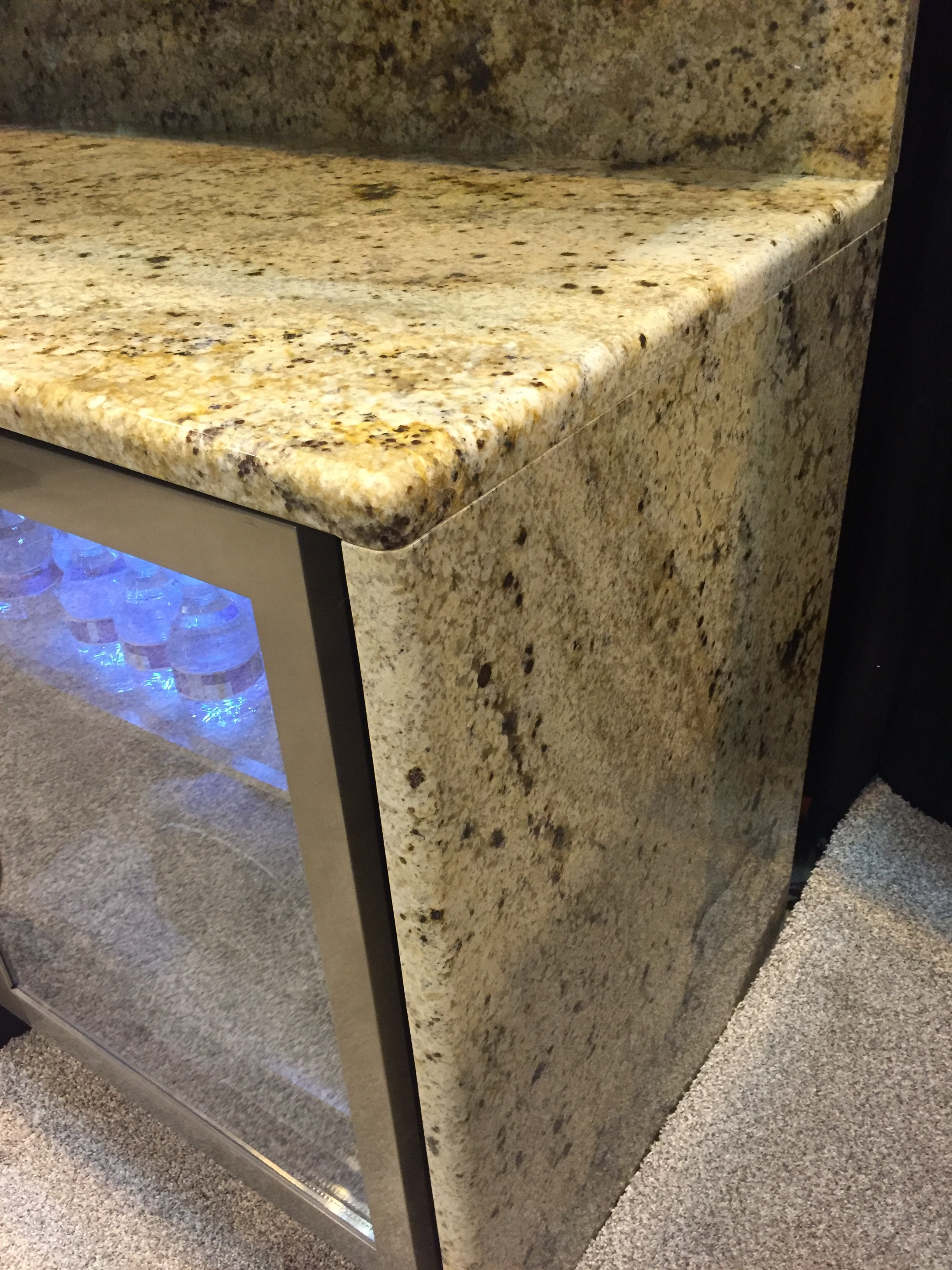 Waterfall Edge On Granite Countertops