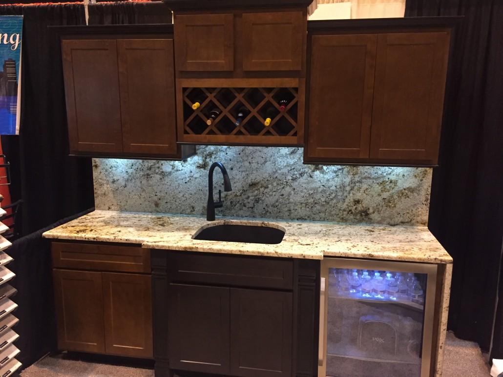 Waterfall Granite Kitchen