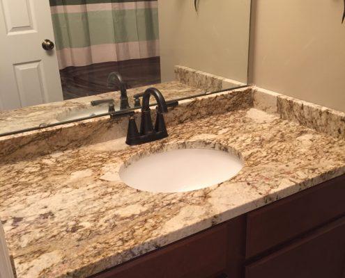Fantasy Platinum Granite Bathroom - Titan Granite - St Louis MO