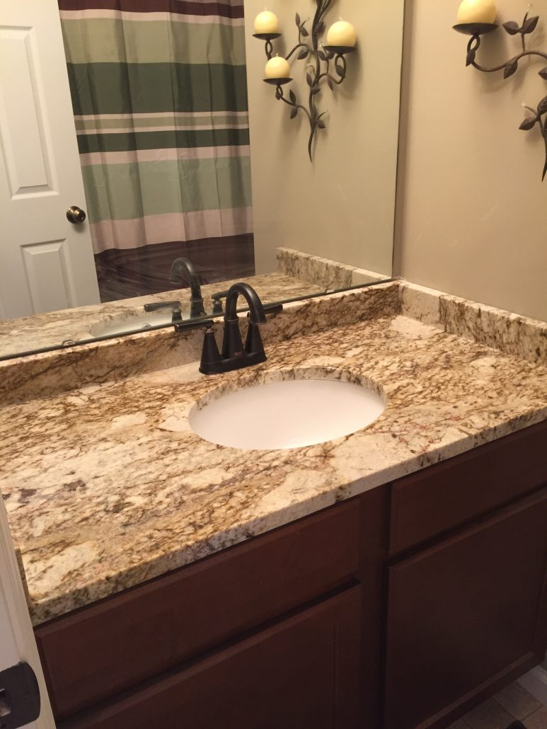 Fantasy Platinum Granite Bathroom Titan Granite St Louis Mo