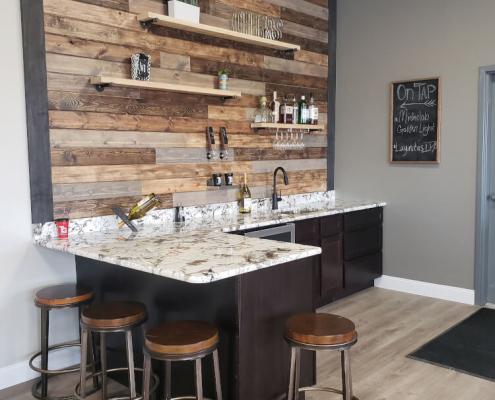Titan Granite Full-Service Bar